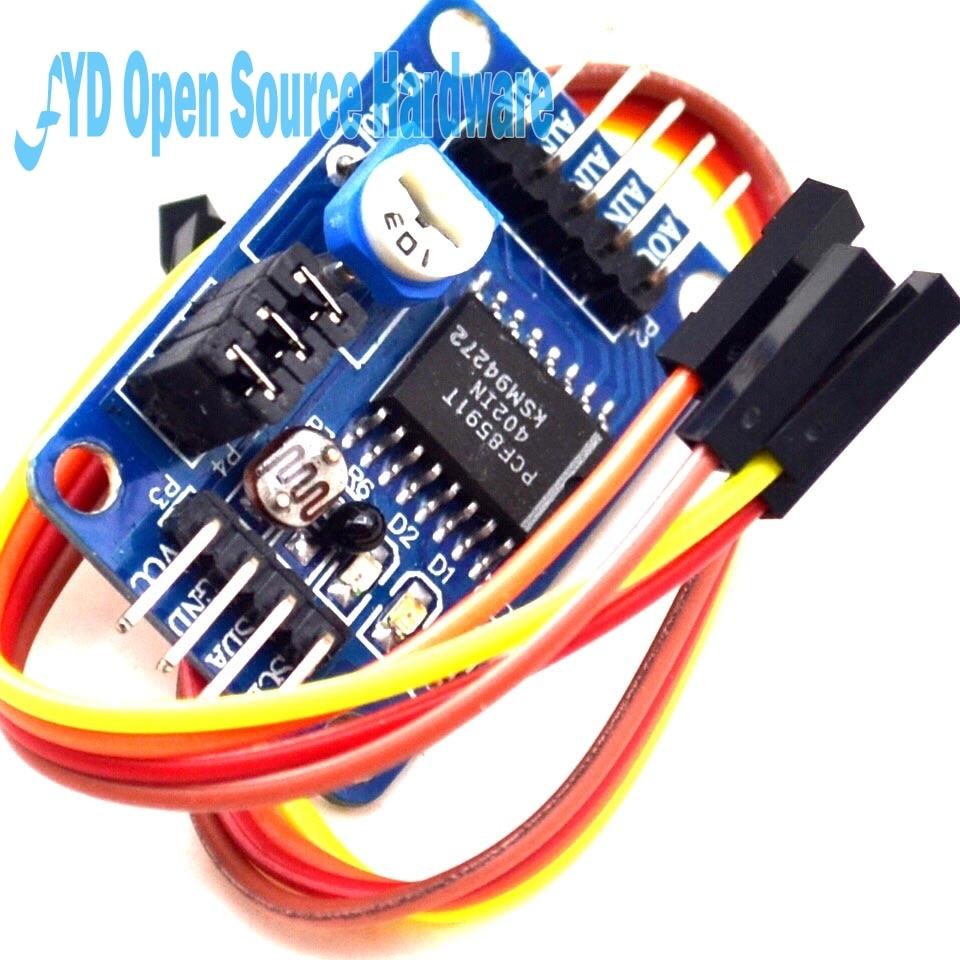 1pcs PCF8591 AD / DA Conversion Of Digital Converter Module Temperature Illumination