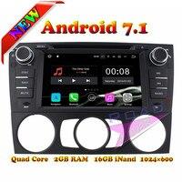 Wanusual 2G+16GB Android 7.1 Car DVD Player For BMW 3 Series BMW E90/E91/E92/E93 2006 2007 2008 2009 2010 2011 Manual GPS Navi