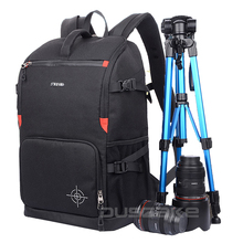 """DSLR Kamera Sırt Çantası Dolgu Lens Bölücü Ekle Çanta ile 15 """"dizüstü Paketi Canon 5D 7D 600D Nikon D7200 Sony a6000 için Seyahat"""
