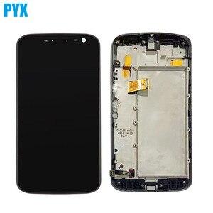 Image 1 - Полный ЖК дисплей для Motorola Moto G4 ЖК дисплей Xt1620 XT1621 Xt1622 Xt1625 Xt1626 дисплей сенсорный экран дигитайзер в сборе с рамкой