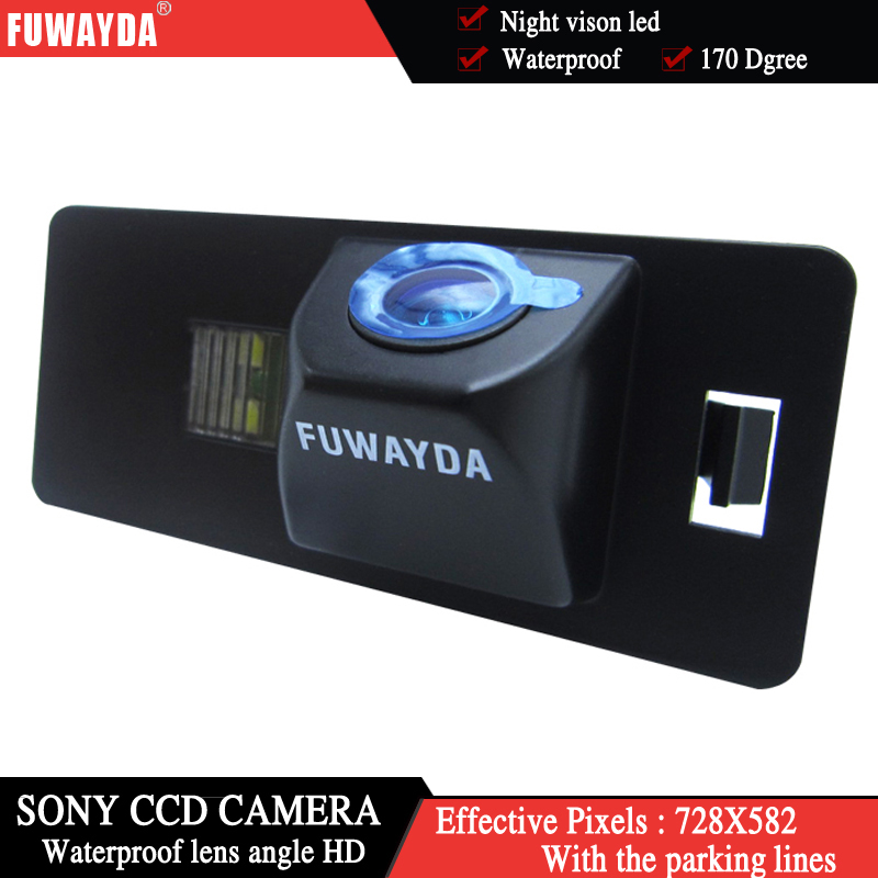 HD Auto Rückfahrkamera kamera CCD für Audi A1 A4 B8 A5 S5 Q5 TT VW Passat R36 5D