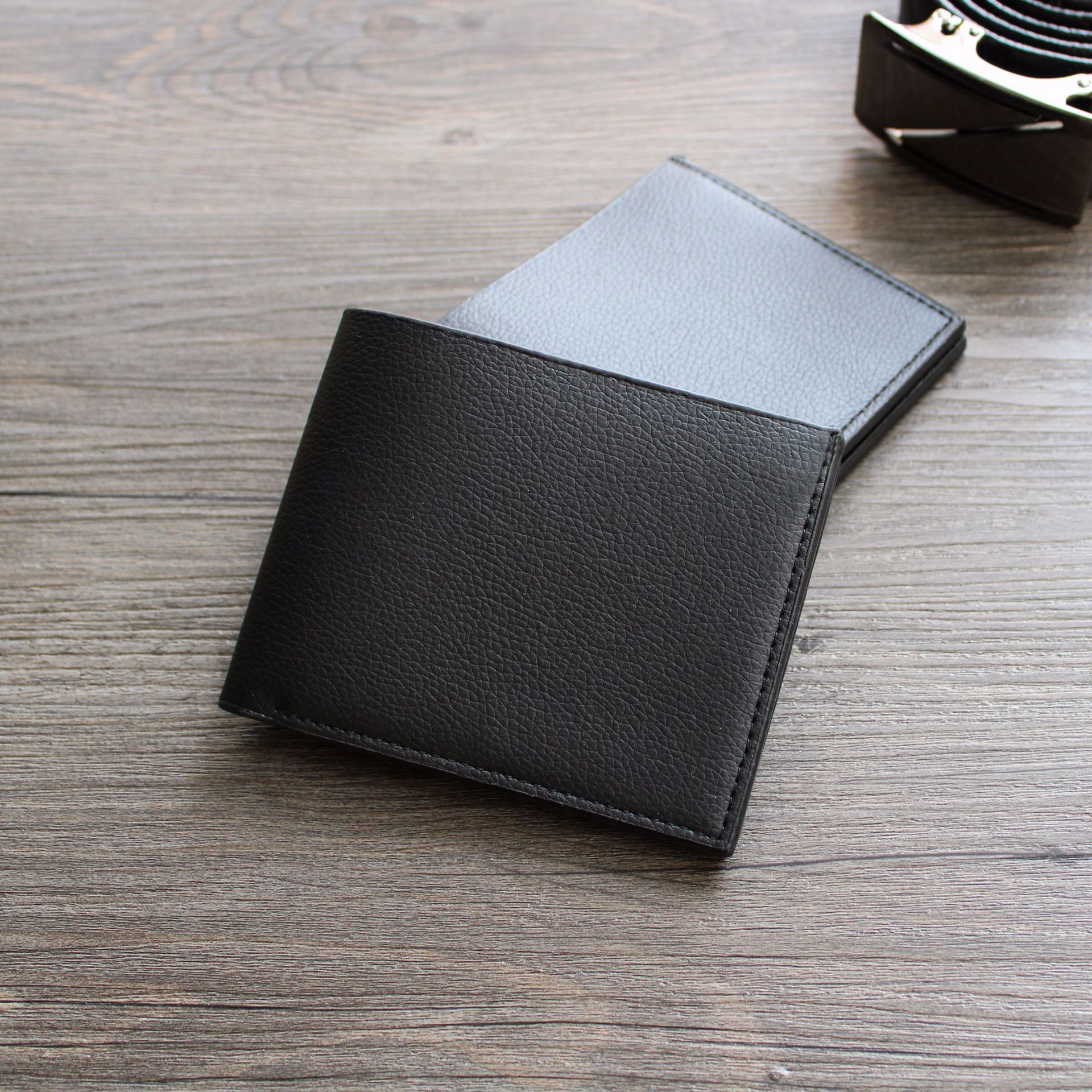 Wallet Fashion Short Bifold Men Wallet Casual Soild Men Wallets With Coin Pocket Purses Male Wallets