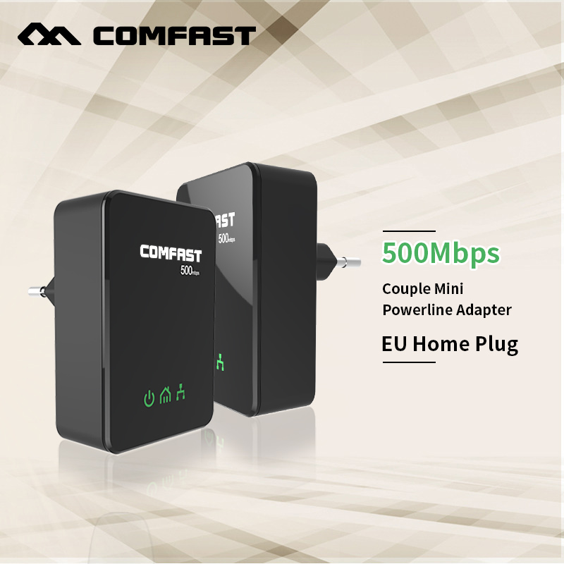COMFAST CF WP500M Power line ethernet adapter extender 500Mbps 2 4GHz Mini plc home plug network