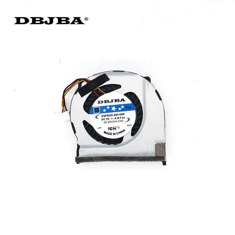 Laptop CPU cooling fan untuk Acer One 532 h D225 D255 D255E D260 NAV50 NAV70 PAV70 AB4205HX-KB3 5 V Fan