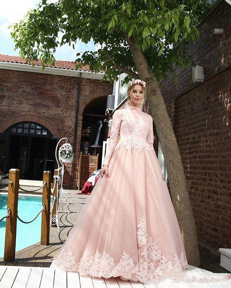 Кружевные розовые свадебные