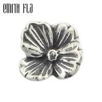 Emith Fla 925 Sterling Zilver Charm Kralen DIY Decoratie Kralen Vintage Mode Liefhebbers Faith voor Vrouwen Fit voor Europese Armbanden