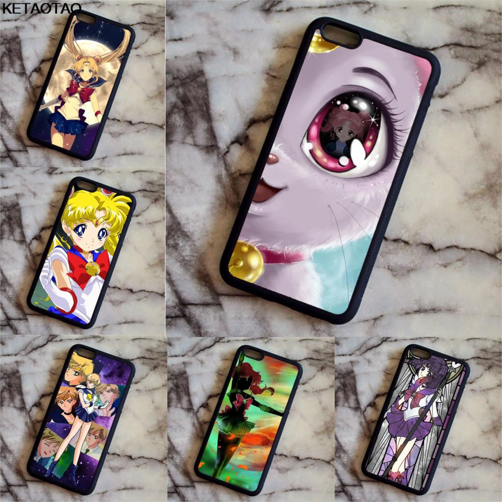 Ketaotao Sailor Moon Cartoon Phone Cases For Samsung S3 S4 S5 S6 S7 S8 S9 Plus Edge Note 3 4 5 7 8 Case Soft Tpu Rubber Silicone Phone Bags & Cases Cellphones & Telecommunications