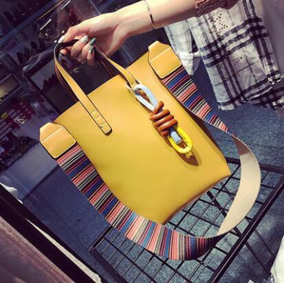 ФОТО Europ Fashion Ladies Big Bucket Bag High Quality Famous Designer Purses and Handbags Women Large Tote Bag Shoulder Crossbody Bag