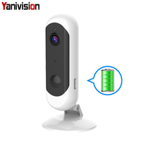 1080P HD Camera Battery 2.4G WiFi Intercom Outdoor Waterproof Wireless IP Camera Home Security H.265 2MP CCTV Camera