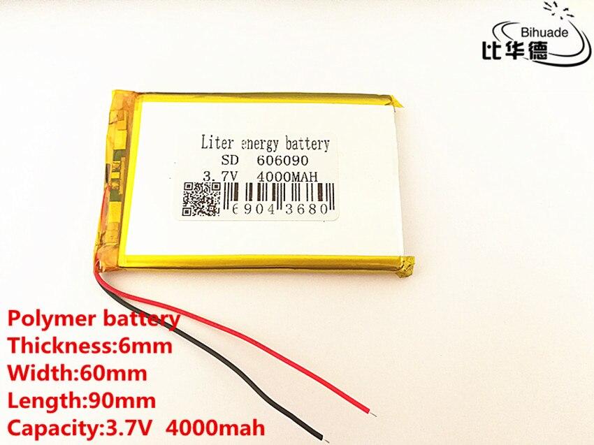 Unterhaltungselektronik Suche Nach FlüGen Polymer Lithium-ionen Batterie 606090 3,7 V 4000 Mah Kann Angepasst Werden Großhandel Ce Fcc Rohs Msds Qualität Zertifizierung Schnelle WäRmeableitung Stromquelle