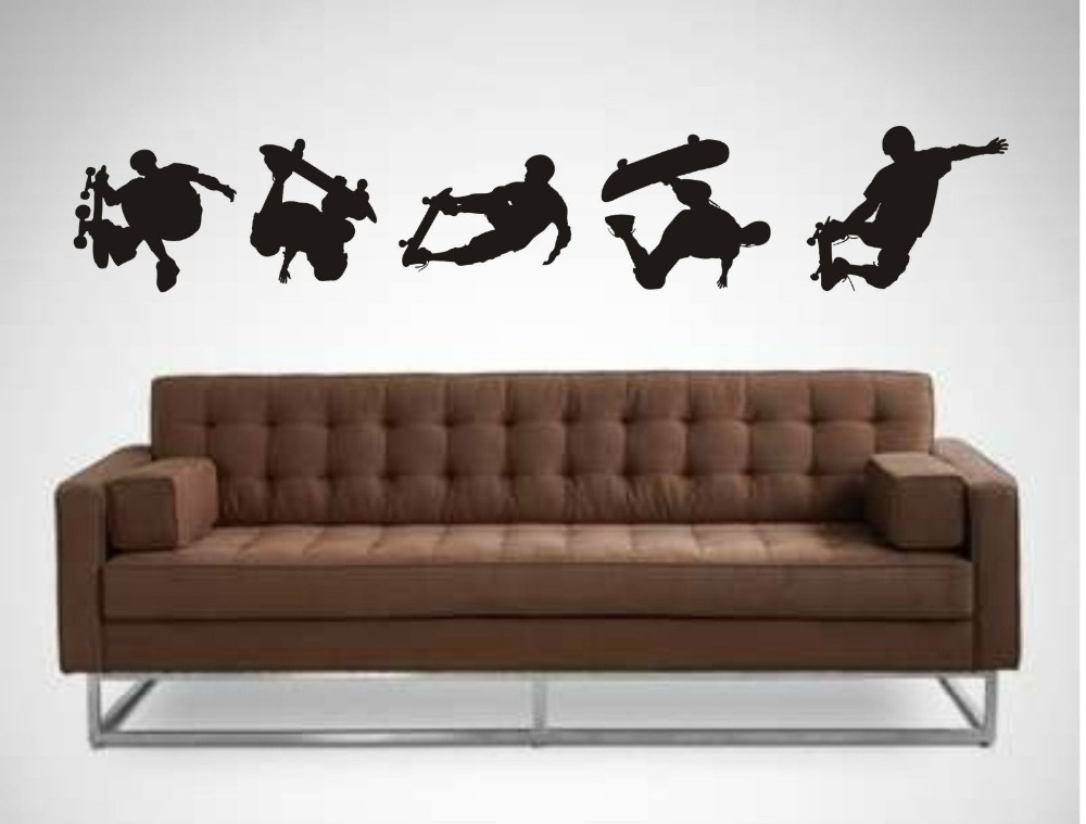 Skateboard Wall Stickers X Childrens Bedroom Wall Sticker Decals - Sporting wall decals