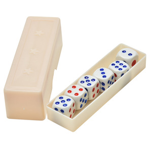 Prediction Dices normal dice six dice prediction box 6 die flash change changing effect close up magic magic props