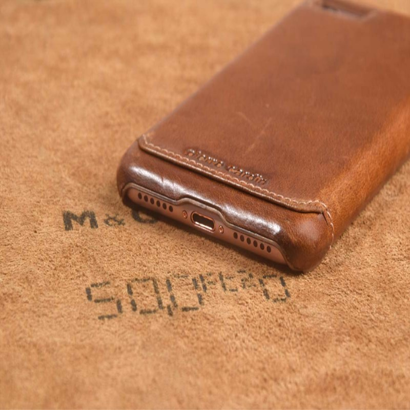 Pierre Cardin For iPhone SE 2020 Բնական կաշվե - Բջջային հեռախոսի պարագաներ և պահեստամասեր - Լուսանկար 4