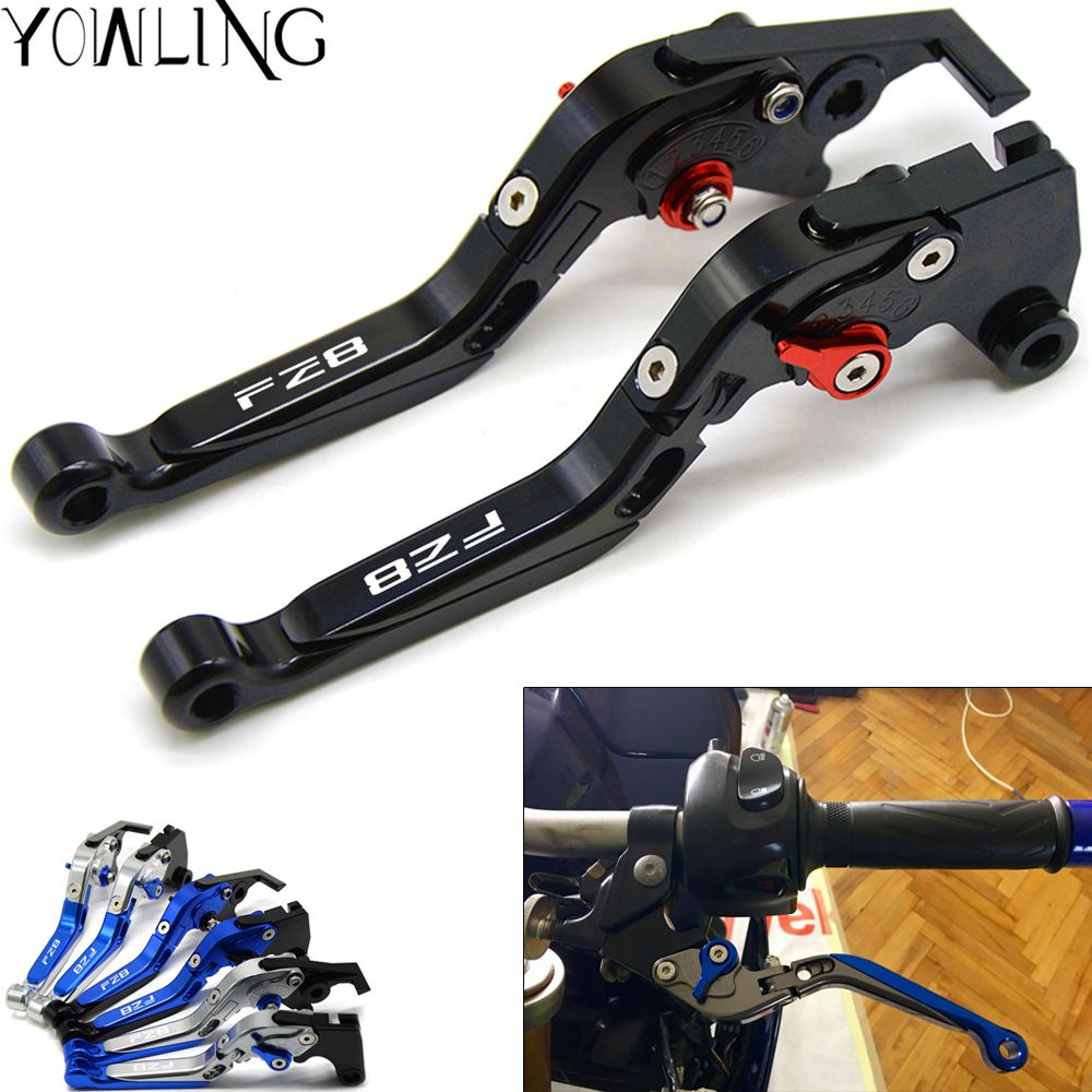 For YAMAHA FZ8 FZ 8 2011-2015 2012 2013 2014 Motorcycle Accessories Folding Extendable Brake Clutch Levers FZ8 стоимость
