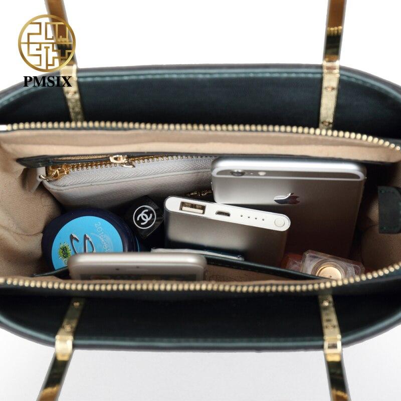 PMSIX Lüks bayanlar çanta sert Dana kadın çantası Yeni Moda - Çanta - Fotoğraf 5