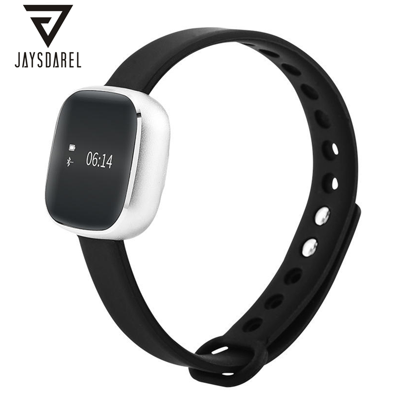 JAYSDAREL V8 Quick Charge Smart Watch OLED IP67 Waterproof Calory Burning Pedometer Fitness Smart Wristwatch for Android IOS smart baby watch каркам q50 oled голубые