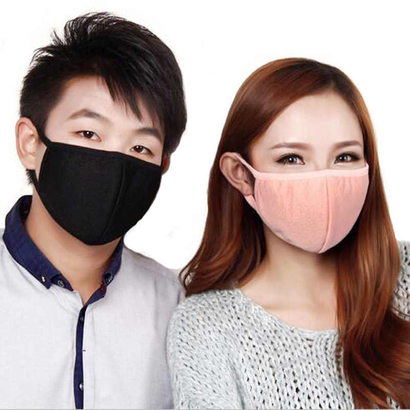 Anti Pm2 5 Flu 1pcs Mouth Cotton Carbon Dust Activated Fabric Mask
