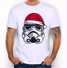 Christmas Stormtrooper Mens T-shirt