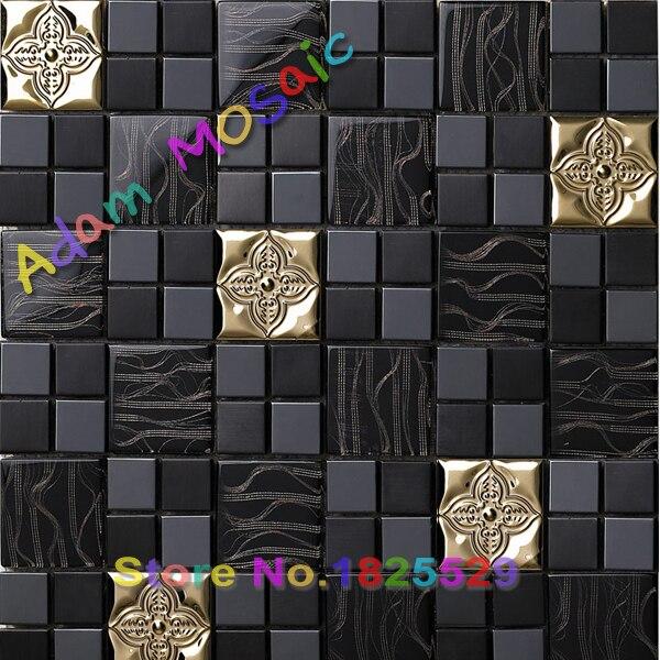 온라인 구매 도매 금속 타일 모자이크 중국에서 금속 타일 ...