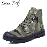 2017 Women High Top Canvas Boots Camouflage Casual Hand Made Martin Boots Couples Worker Shoes Unisex