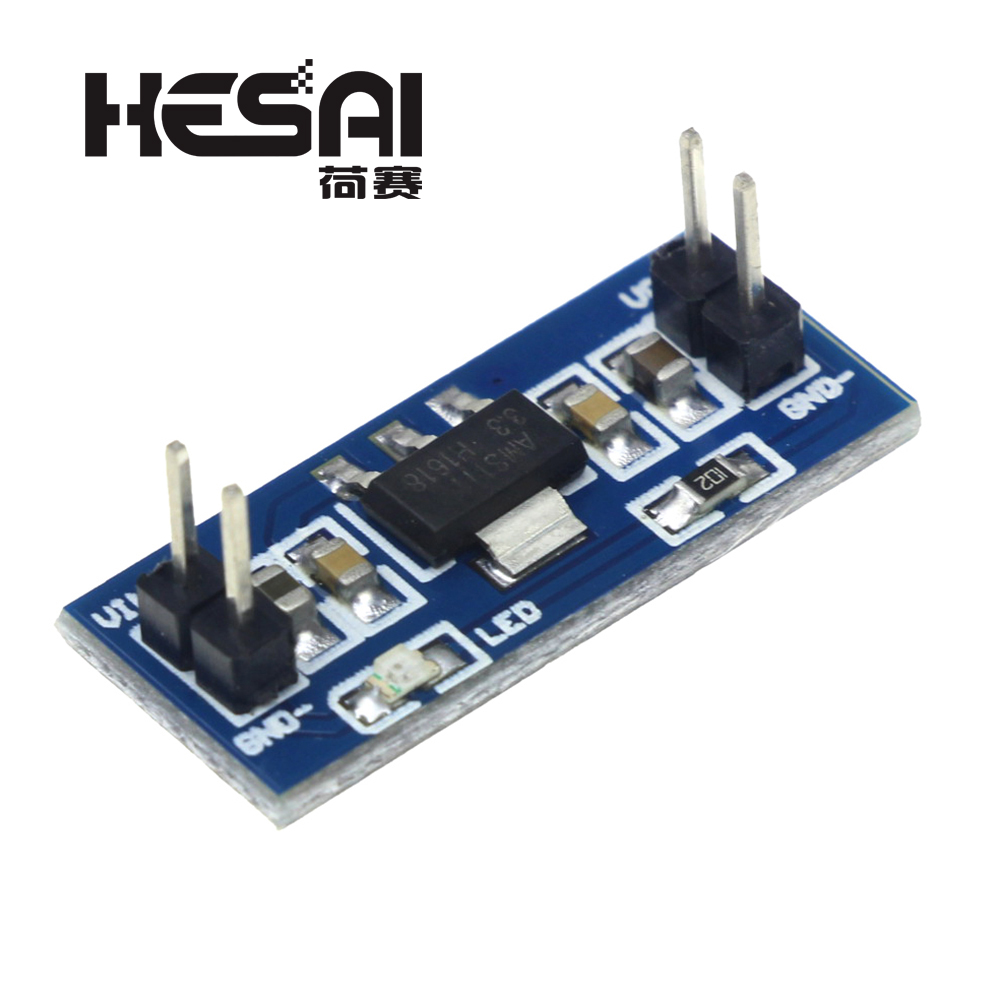 10 teile/los AMS1117 4,5-7 V Wiederum 3,3 V DC-DC Step Down Power Supply Module