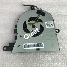 Original CPU Laptop Cooling Fan Para Dell inspiron Latitude 3590 L3590 E3590 0FX0M0 FX0M0 15 5570 5575 ventilador de refrigeração