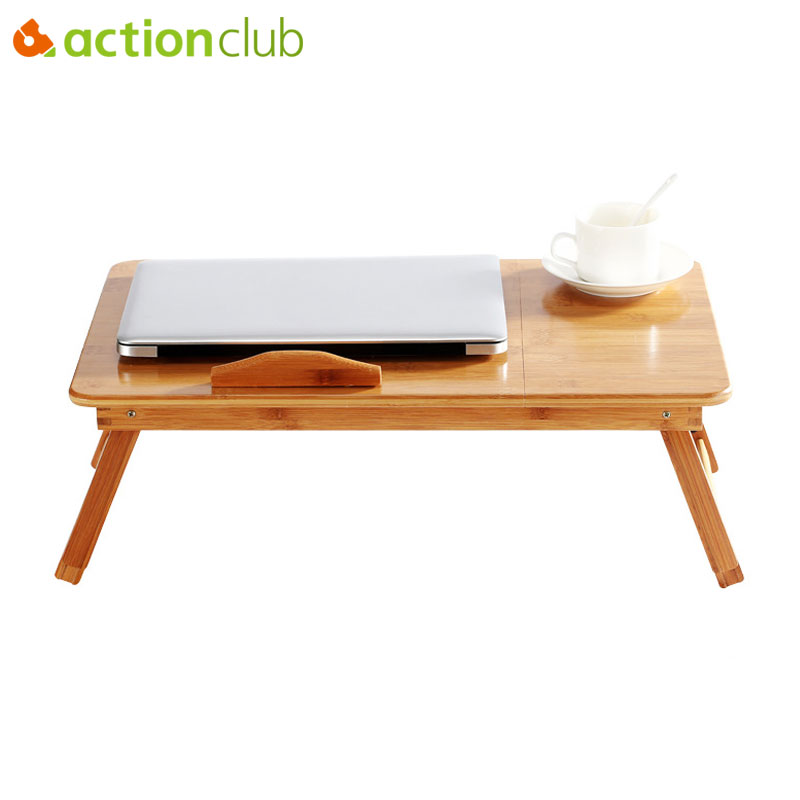 Actionclub Adjustable Computer Stand Laptop Desk Notebook Desk Laptop Table For Bed Sofa Bed Tray Picnic Table Studying Table(China)