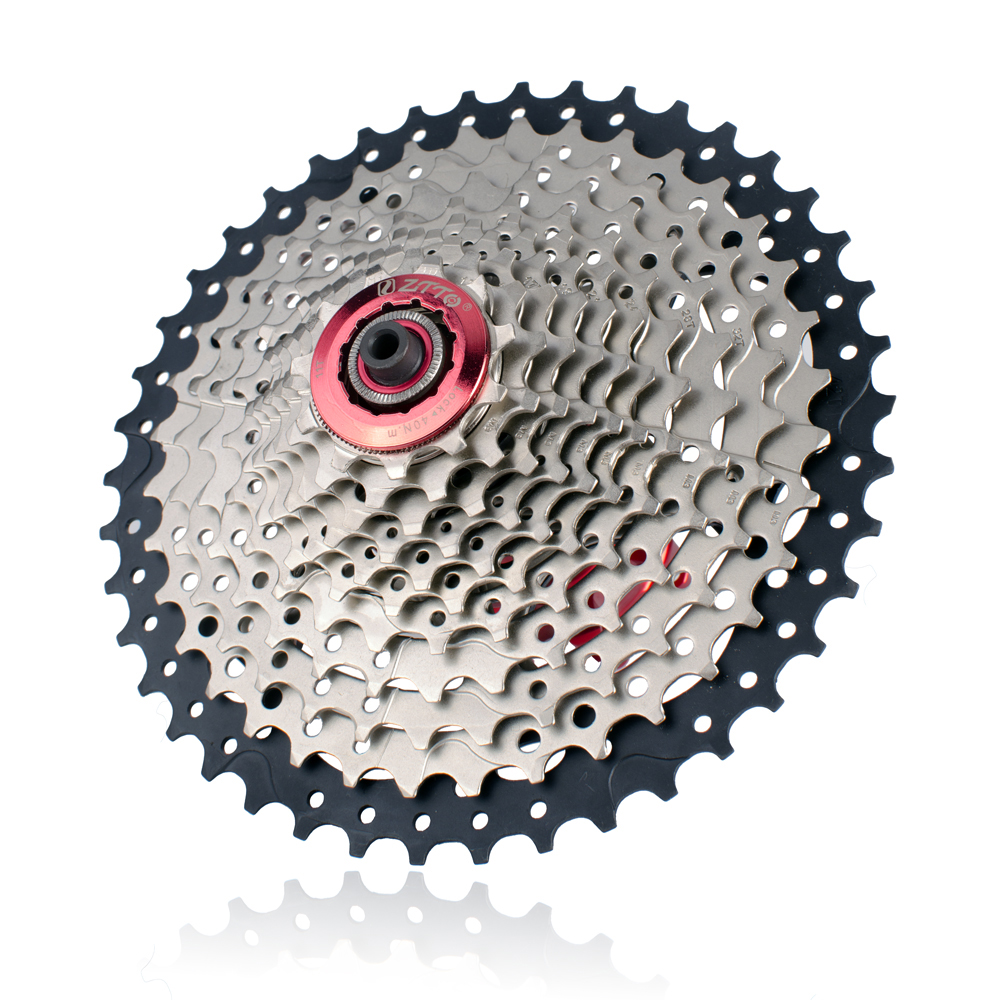 Sunshine Mtb Mountain Bike Bicycle 11 Speed 11-42t Cassettes 11s Cassette Silver Bicycle Components & Parts