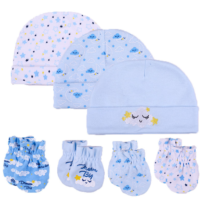 Baby Boys Hats Blue 0//3 Months