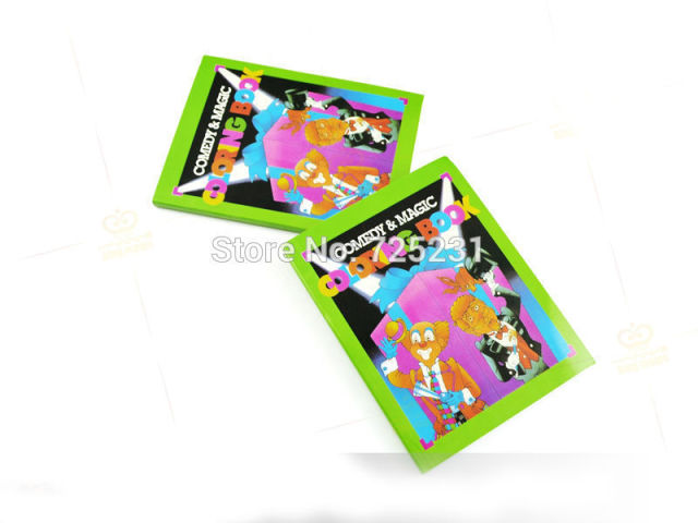 1pcs Funny Comedy Magic Coloring Book small size ellusionist funny ...