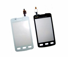 High Quality For Samsung Galaxy Xcover S5690 GT-S5690 Touch Screen Digitizer Glass Panel Lens Sensor Replacement White Black