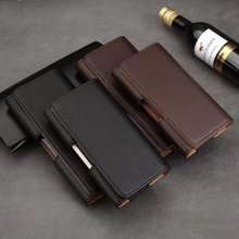Holster Belt Clip Leather Mobile Phone Case Pouch For Motorola Moto M,Asus Zenfone 3 Zoom ZE553KL/3 ZE520KL/3 Max ZC553KL,
