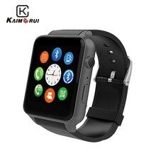 Купить с кэшбэком Kaimorui Smart Watch Heart Rate Tracker Heart Support SIM TF Card Men Watch Bluetooth Smartwatch For Android IOS Watch Phone