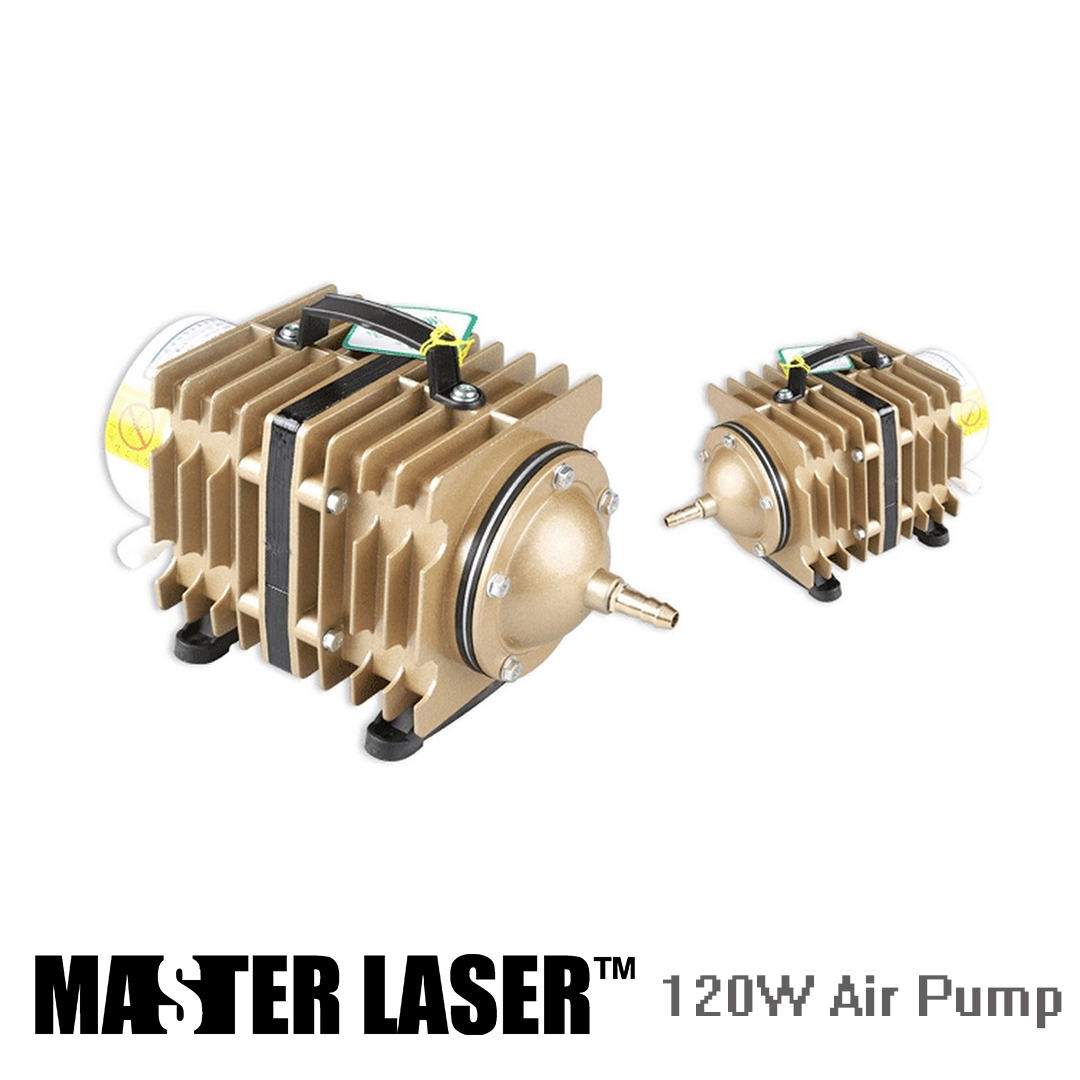 Air Pump for CO2 Laser Cutting or Engraving Machine DIY PARTS 120W  Gas PumpAir Pump for CO2 Laser Cutting or Engraving Machine DIY PARTS 120W  Gas Pump