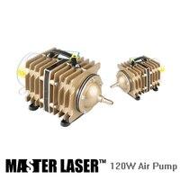 Bomba de ar para CO2 Máquina de Corte A Laser ou Gravura PEÇAS DIY 120 w Bomba De Gás