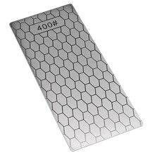 1 шт. 400# Алмазная заточка точильный камень зернистость соты Тип точилка блок профессиональный