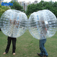 WB012 Free shipping TPU Inflatable Bubble Ball Costume Roll outdoor Inflatable Ball Suit for sale