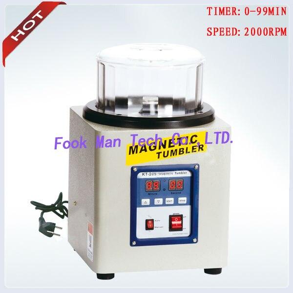 220V 800g Capacity Jewelry Goldsmith Tools Magnetic Tumbler Gold Polishing Machine Tumbler Polishing Machine цена