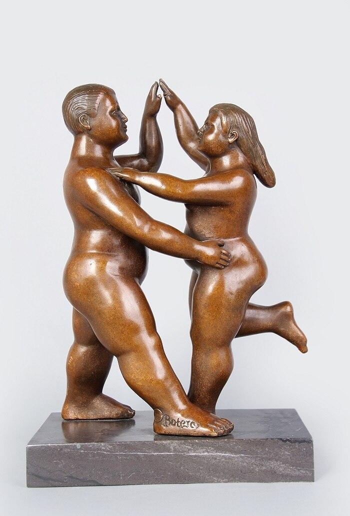 Fat Couple Dancing 19