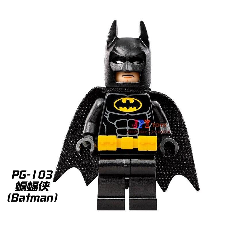 50pcs superhero building Justice League Movie Batman blocks bricks friends for girl boy kids children toys