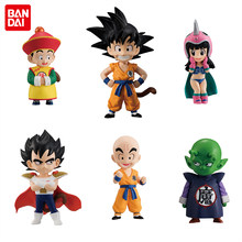 """Dragon Ball"" Original BANDAI ADVERGE SHOKUGAN EX 01 Coleção Figura-Conjunto Completo 6 pcs Goku Gohan Vegeta piccolo ChiChi Kuririn(China)"