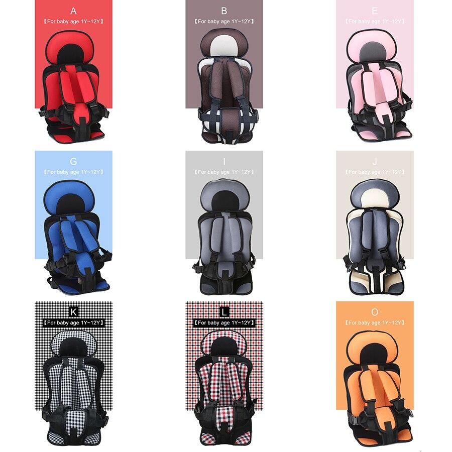 1 шт. удобные Портативный 8 расцветок детское автокресло Безопасность детей автомобиля Защита ребенка подушка безопасности детей сиденья а...