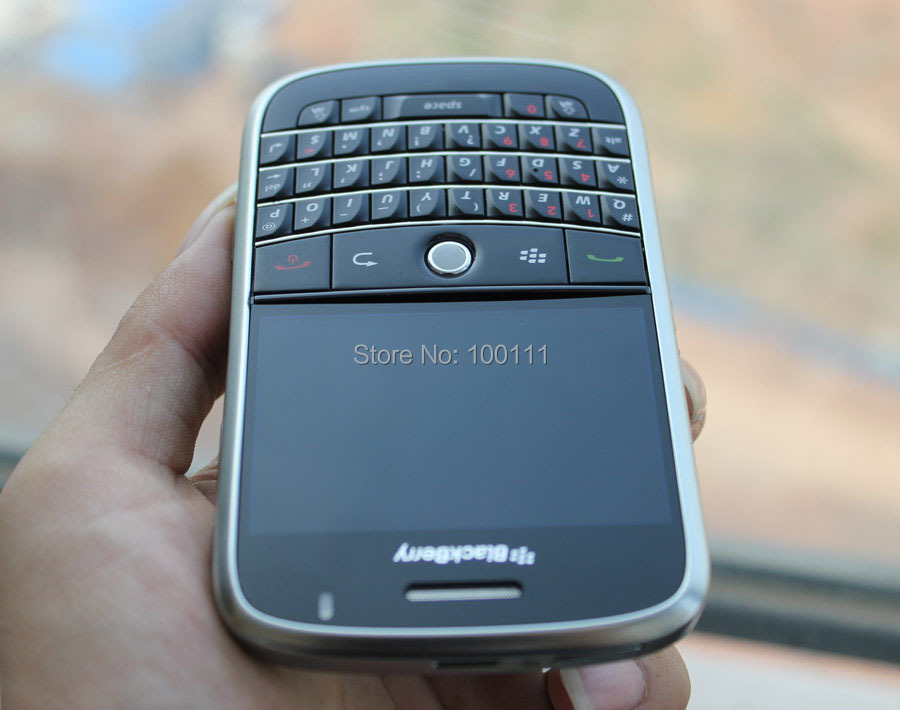 US $38 08 |In stocked/ Refurbished Original BlackBerry Bold 9000 Mobile  Phone with Unlocked QWERTY Keyboard Black 2G 3G / Free shipping-in  Cellphones