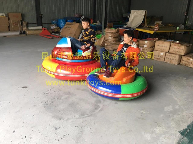 Hot Attractive Battery Operated Ufo Inflatable Bumper Car In