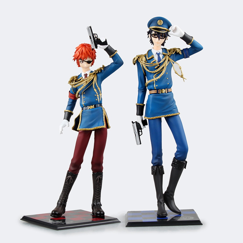 K Missing Kings Yata Misaki Fushimi Saruhiko 1/7 scale painted Uniform ACGN PVC Action Figure Collectible Model Toy 21cm durarara ii izaya orihara 1 8 scale painted psychedelic ver doll acgn anime pvc action figure collectible model toy 17cmkt2981