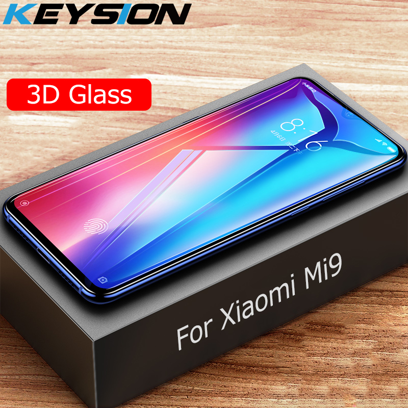 KEYSION Tempered-Glass Glass-Film Screen-Protector Xiaomi Note-7 For Mi-9 3D Rdmi Full-Coverage