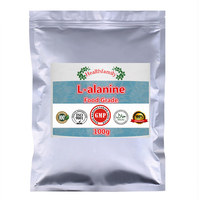 100g 1000g Food Grade L Alanine Powder,gold Quality Alanine CAS 56 41 7,Health Care Product and Food Additives,free Shipping