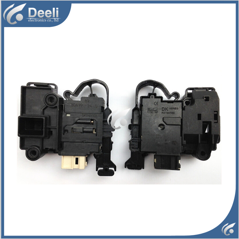 1pcs Original for Haier for LG washing machine electronic door lock delay switch 0024000128A 0024000128D new for lg washing machine drum door hinge 42741701 1pcs