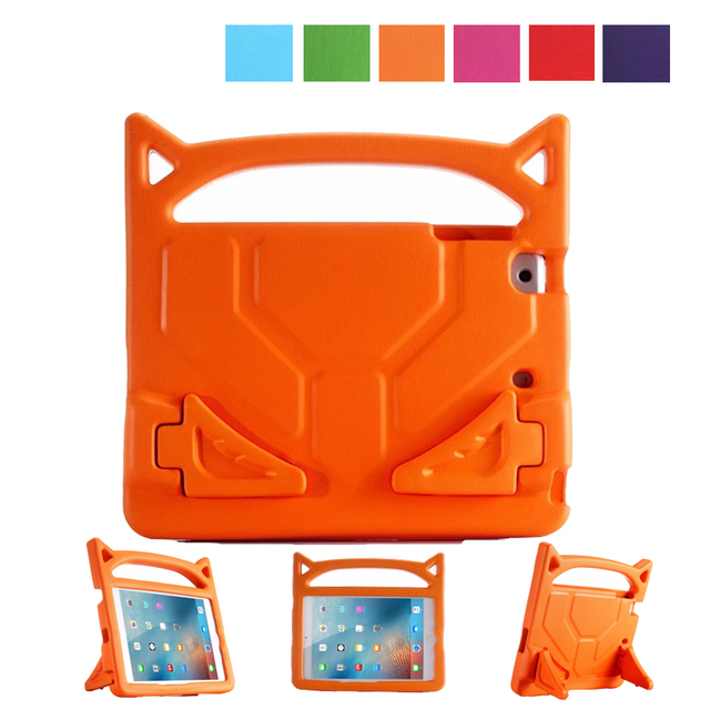 Devil Cover Case for iPad Mini 1/2/3 Safe Kids Shockproof EVA Silicone Stand Grip Carry Handle Cover for 7.9 iPad Mini 4 Coque