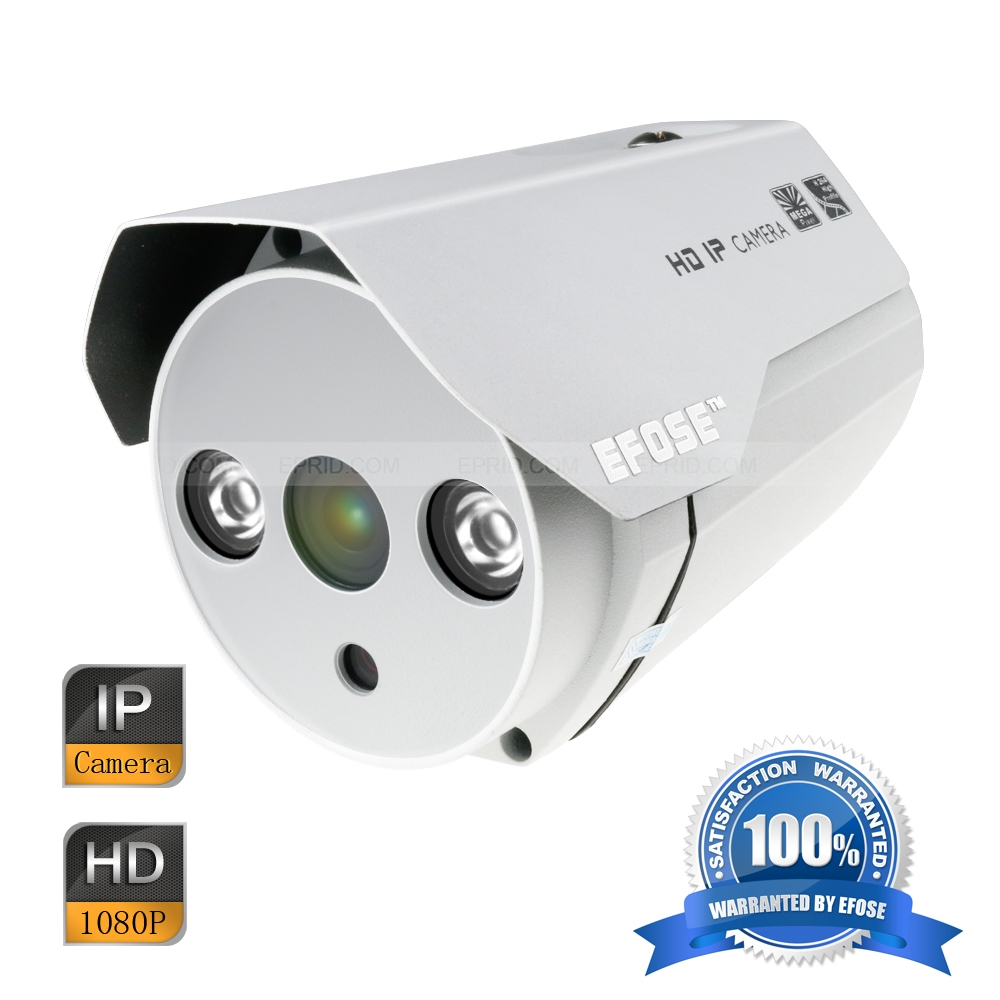 EFOSE FO-3IB211-N 2MP Full HD Network Mini IR Bullet 3.6mm Camera 1/3 CMOS Outdoor HD 1080P Array IR
